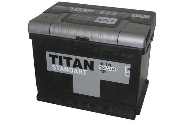 Titan Standart 60 А/ч 540 А