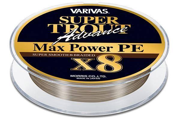 Varivas Super Trout Advance Max Power PE 150м 1.2