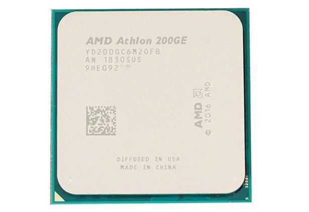 AMD Athlon 200GE Raven Ridge (AM4, L3 4096Kb)