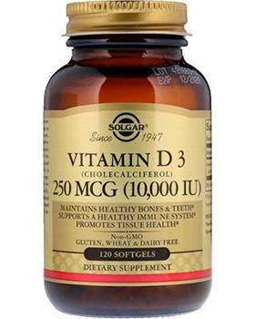 Vitamin D3 10000 МЕ капс. №120