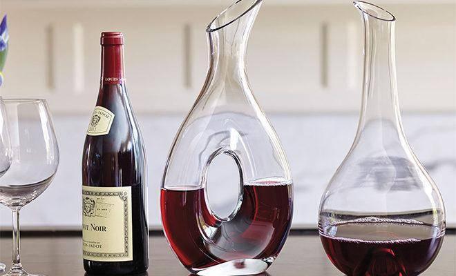Лучшие декантеры для вина