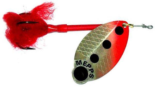 """Mepps """"Lusox AG FLUO"""", №3"""