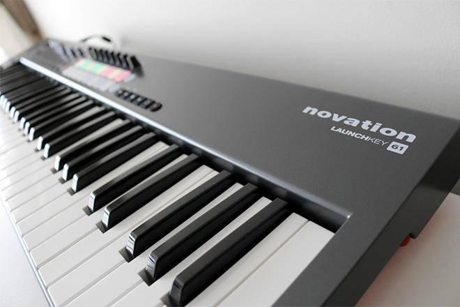 Лучше миди-клавиатуры