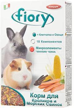 Fiory Superpremium Conigli e cavie