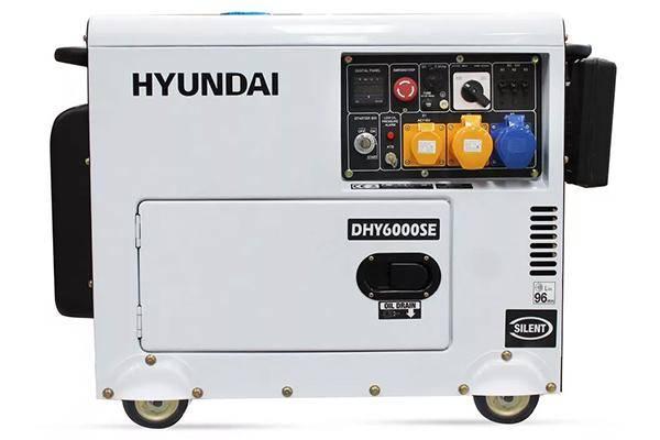Hyundai DHY-6000 SE (5000 Вт)