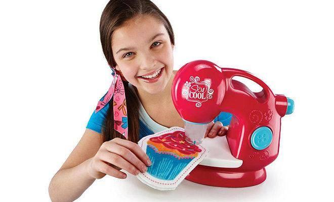 Лучшие детские швейные машинки
