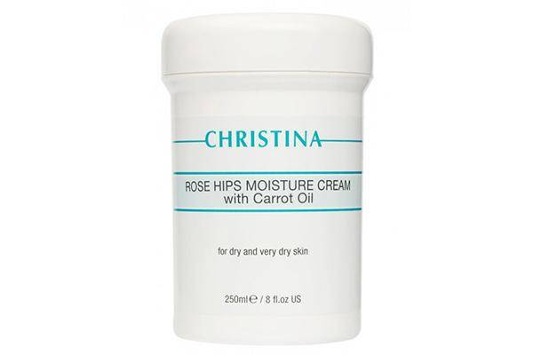 Christina Rose Hips Moisture Cream With Carrot Oil For Dry And Very Dry Skin