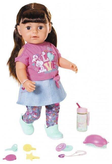 Zapf Creation Baby Born Сестричка брюнетка 43 см
