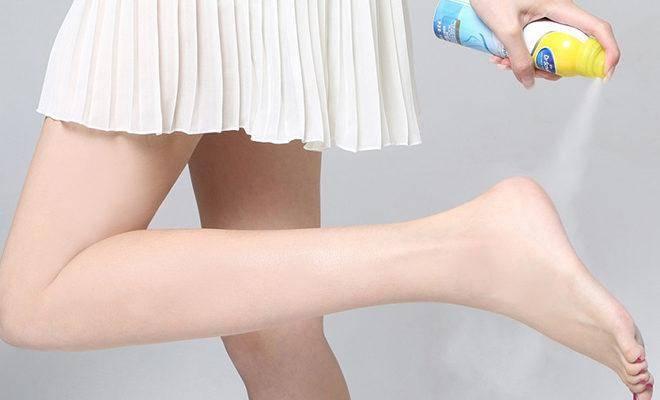 Лучшие дезодоранты для ног