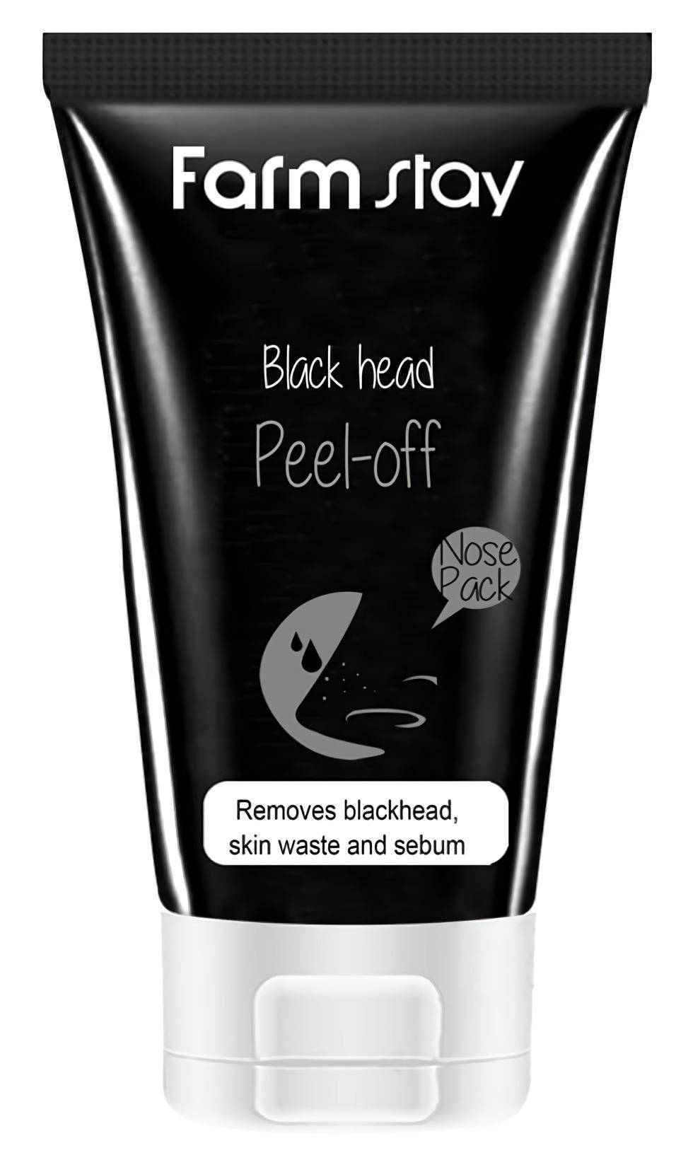 FarmStay Charcoal Black Head Peel-Off Nose