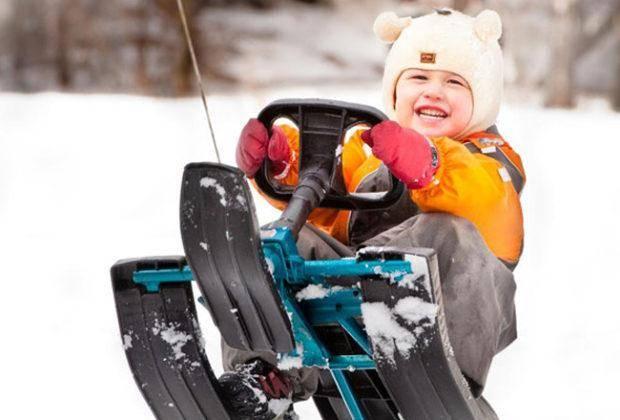 Лучшие детские снегокаты