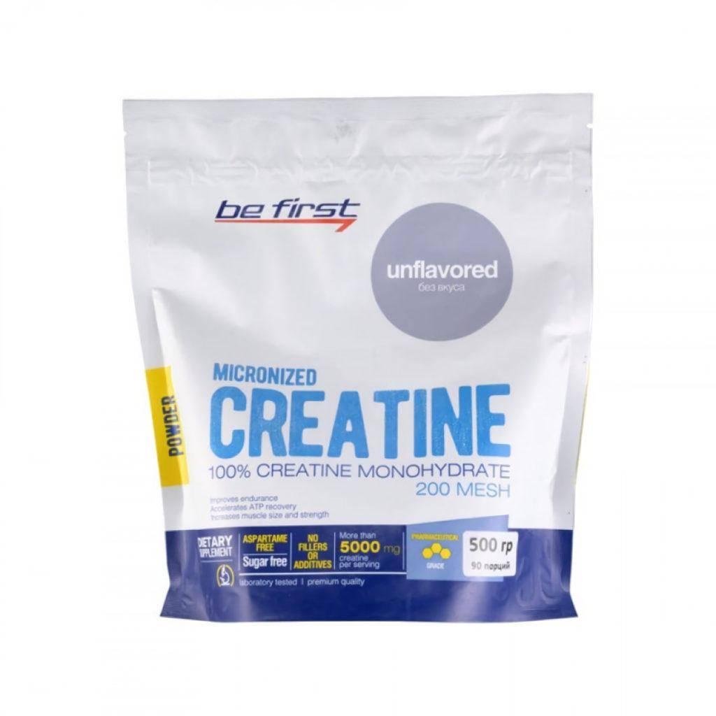 Be First Micronized Creatine Monohydrate Powder