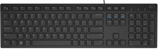 Dell KB216 Black USB