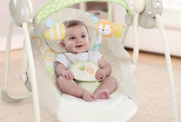 лучшие шезлонги для новорожденных