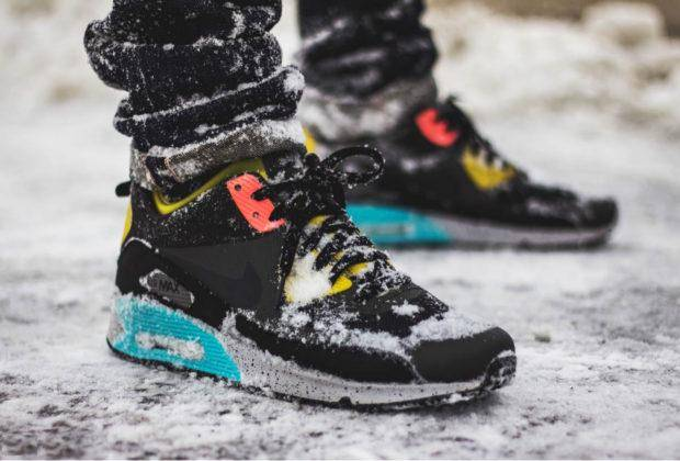 лучшие зимние кроссовки