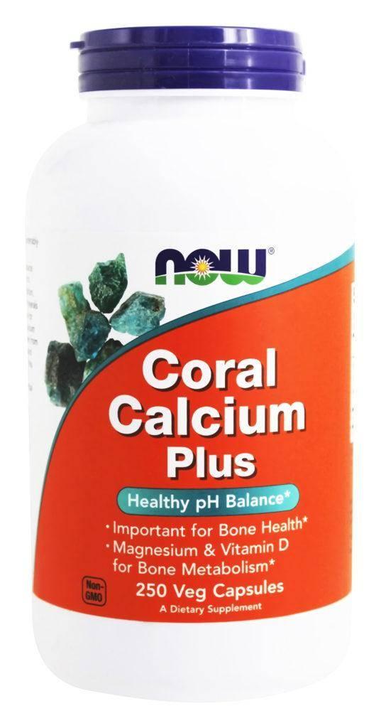 Now Foods Coral Calcium Кальций из кораллов
