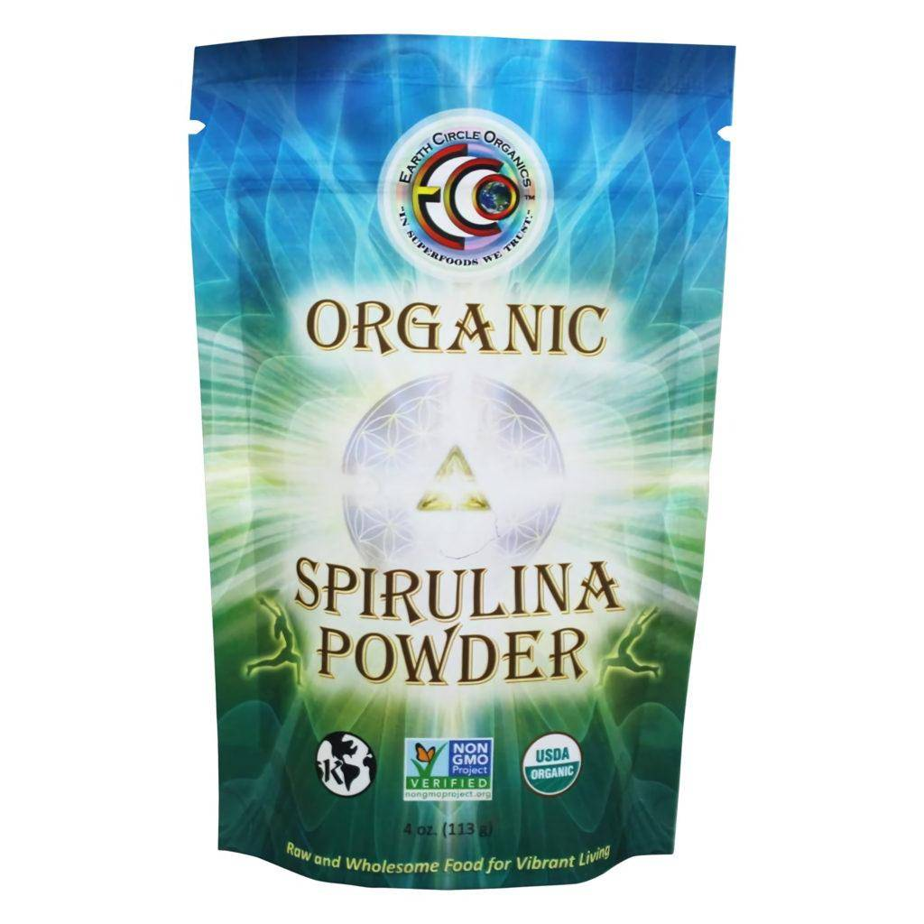 Earth Circle Organics Organic Spirulina Powder