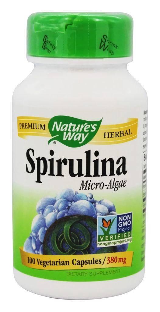 Nature's Way Spirulina Micro-Algae