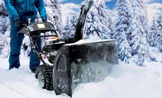 лучшие бензиновые снегоуборщики