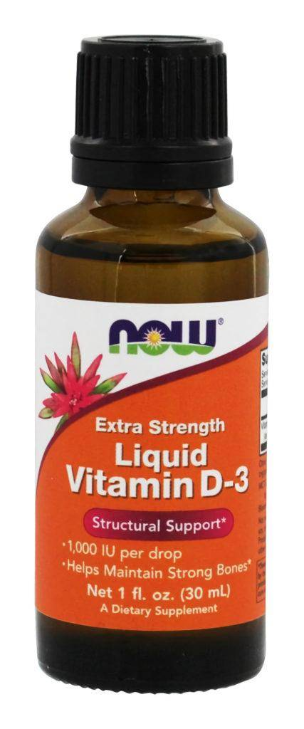 Now Foods Liquid Vitamin D-3