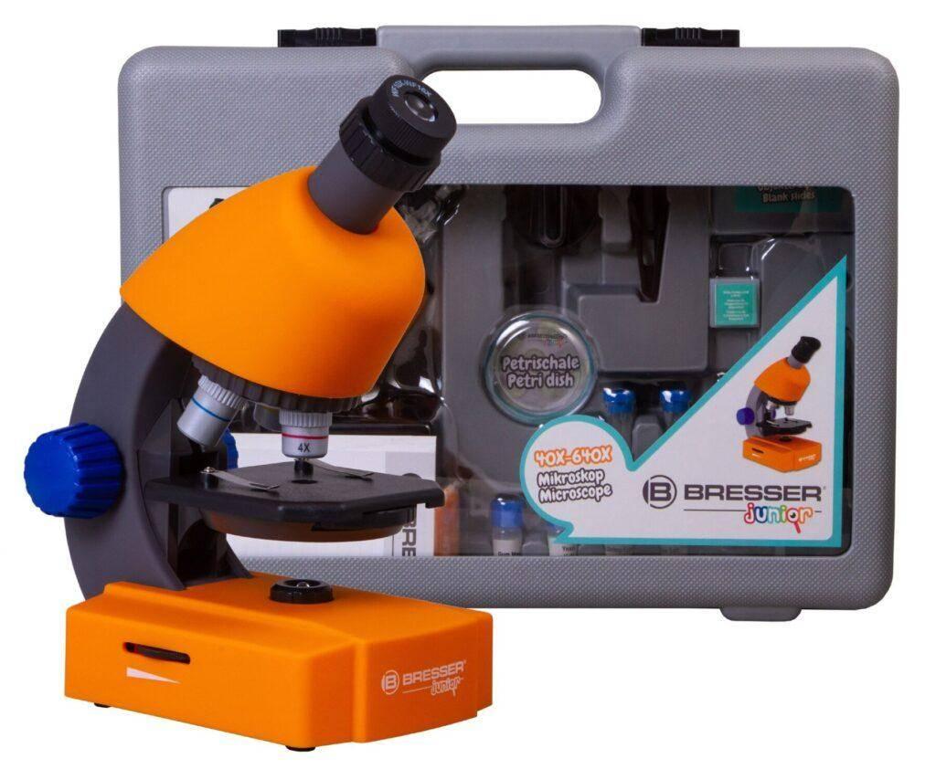 Bresser Junior 40-640x с набором для опытов