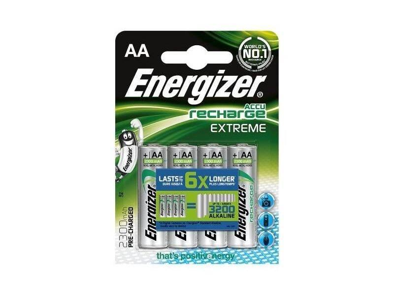 Energizer Accu Recharge Extreme AA