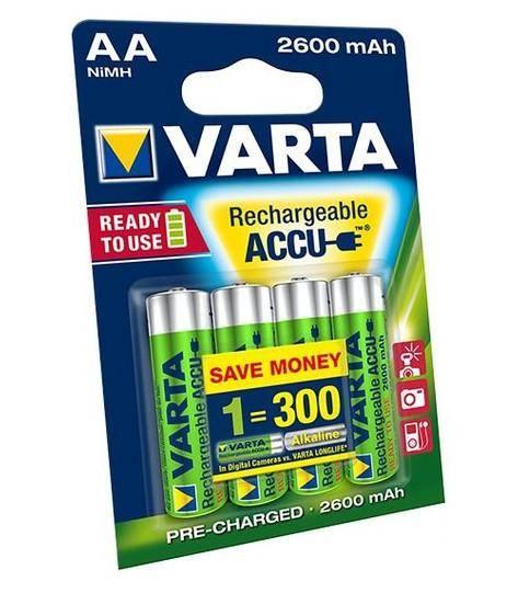 Varta Recharge Accu 2700 AA