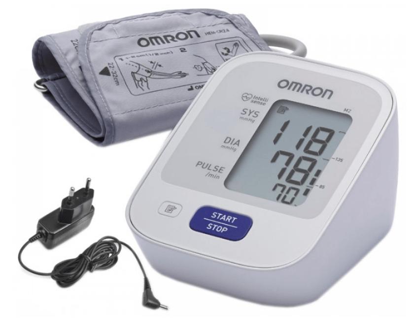 Omron M2 Basic с адаптером