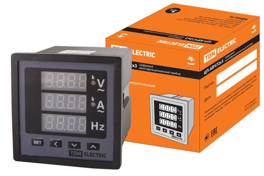 TDM Еlectric ЦП-В72х3