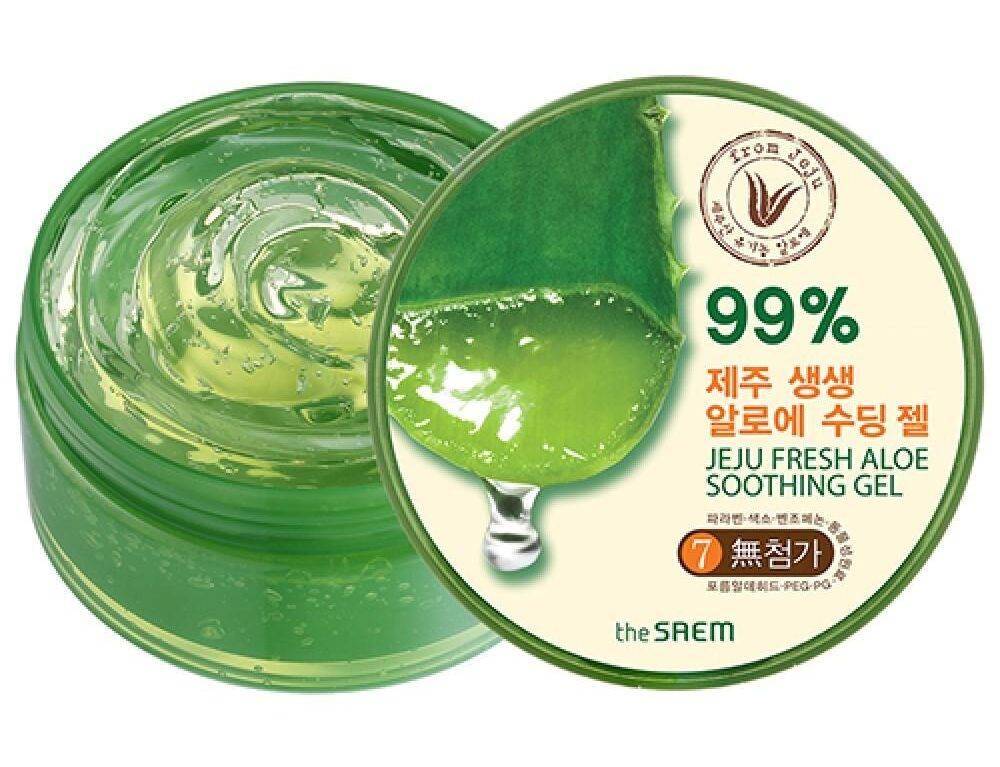 The Saem Jeju Fresh Aloe Soothing Gel 99%