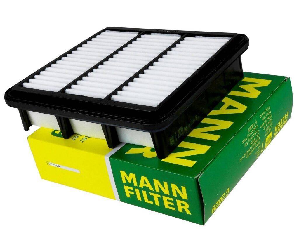 воздушный фильтр Mannfilter