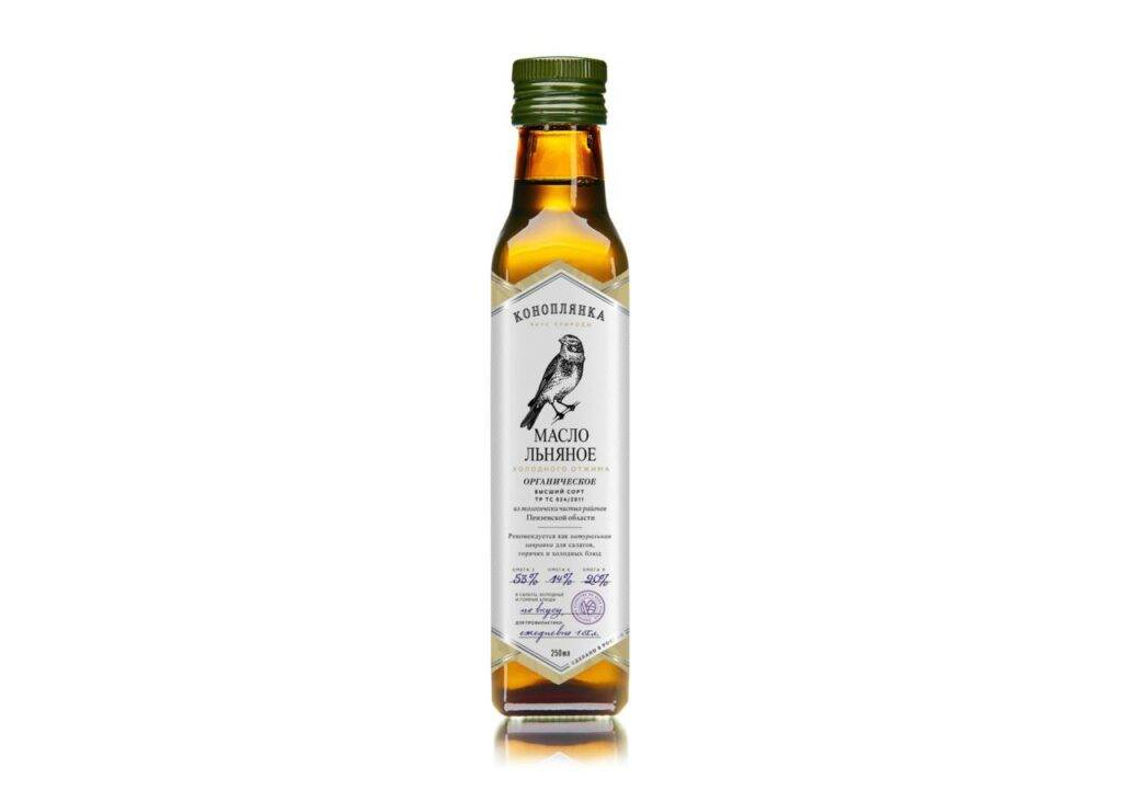 льняное масло Коноплянка