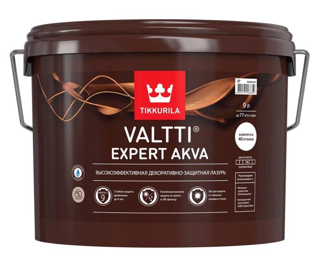 Tikkurila Valtti Expert Base высокоэффективная биозащитная