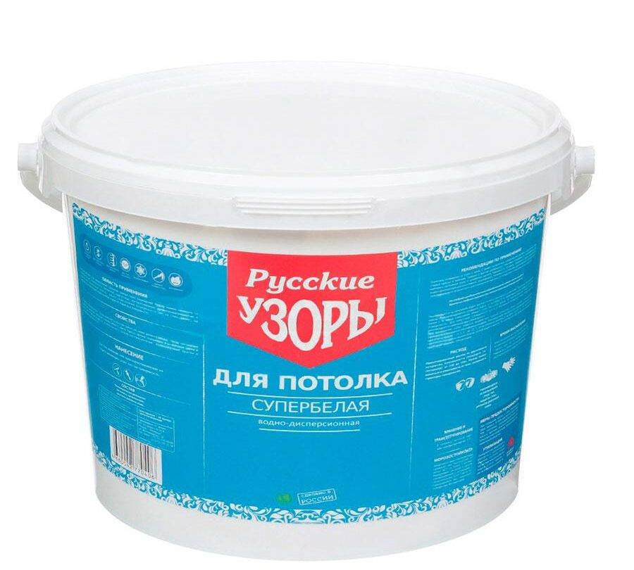 Русские узоры краска для потолка
