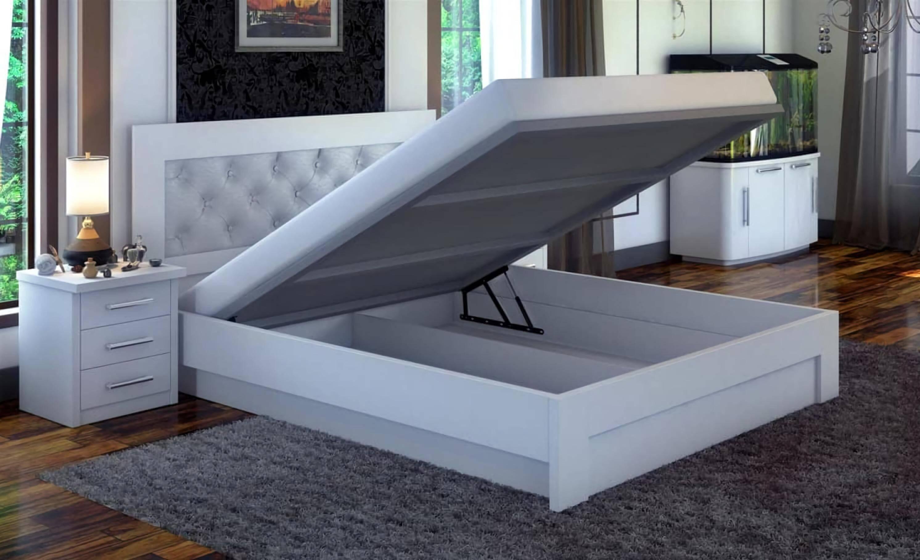лучшие кровати с подъемным механизмом