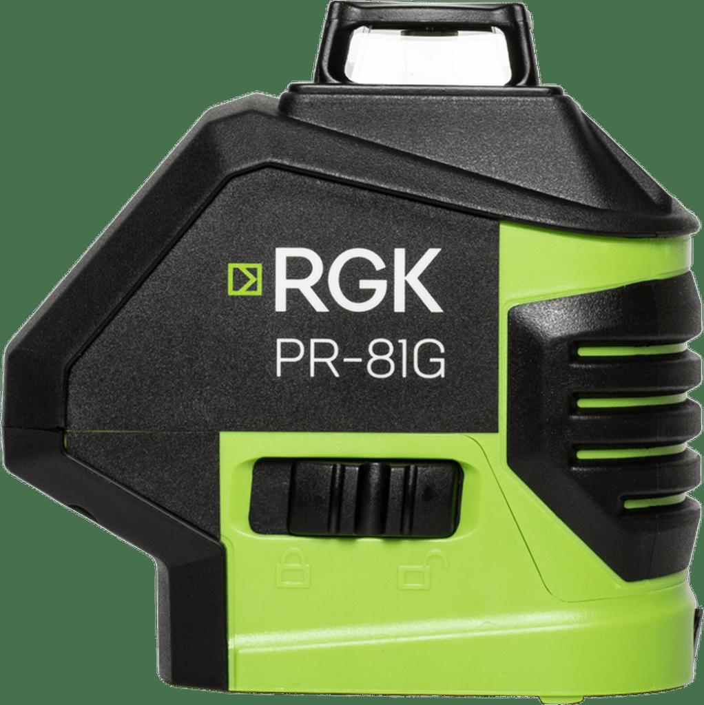 RGK PR-81G – зеленый луч 360 градусов