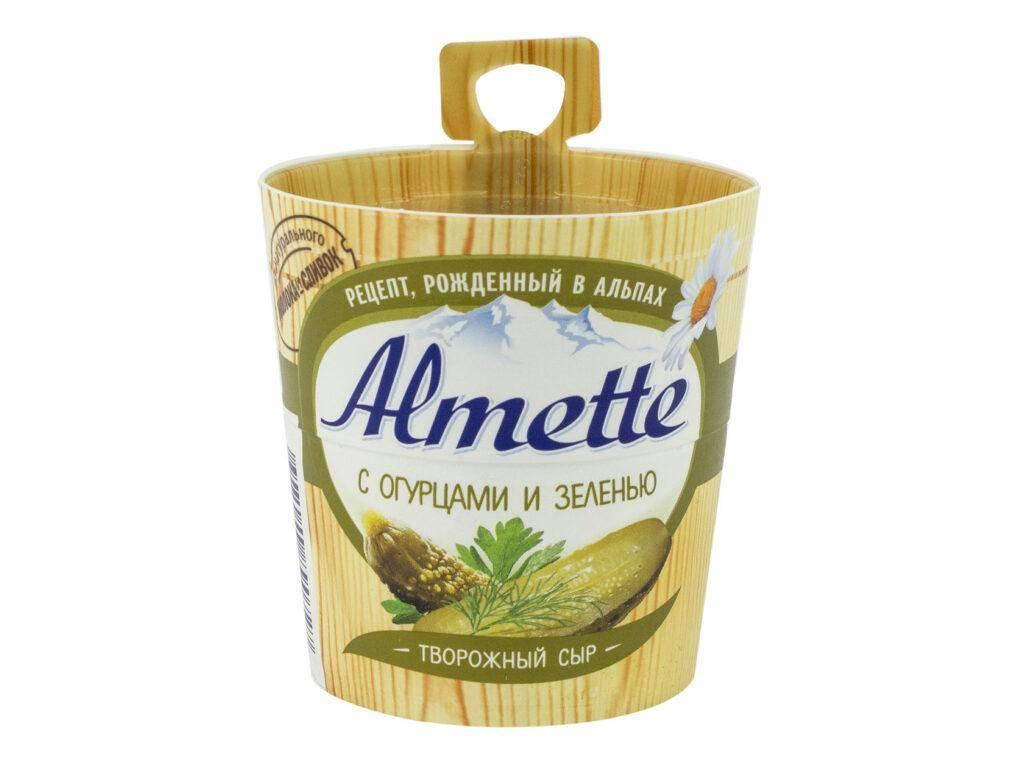 Almette с огурцами и зеленью 60%
