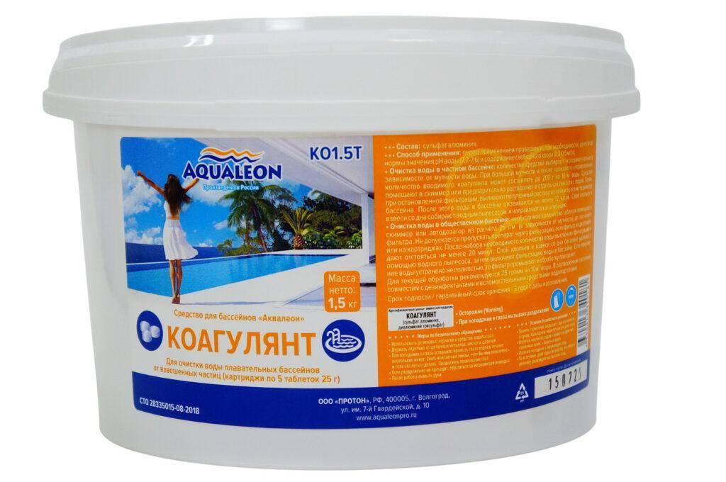 Aqualeon Коагулянт (в таблетках)