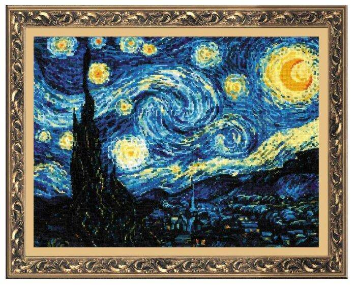 Риолис Звёздная ночь (по мотивам картины В. Ван Гога)