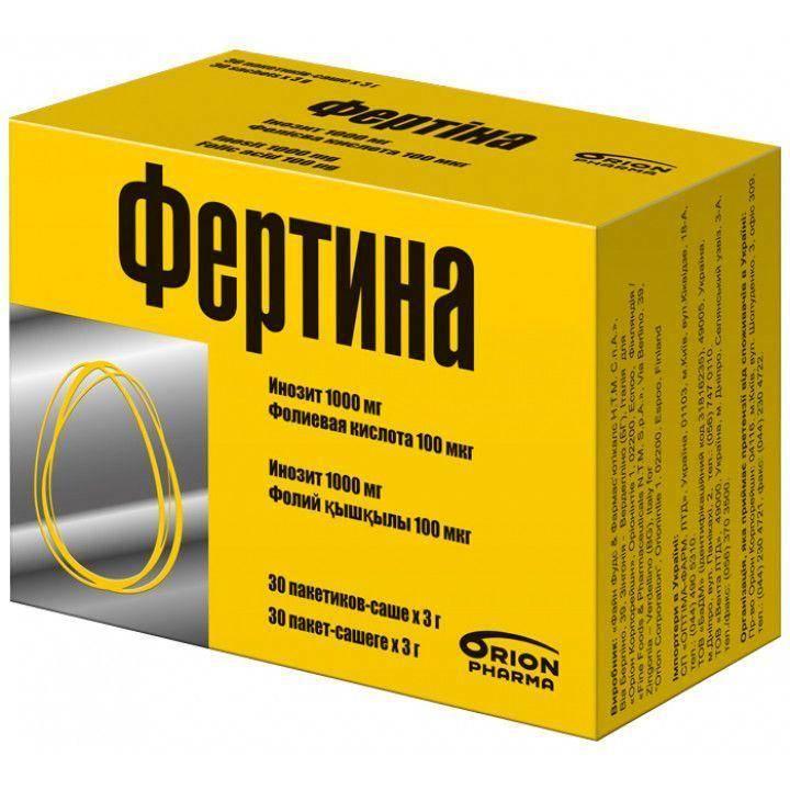 «Fine Foods & Pharmaceuticals» Фертина инозит