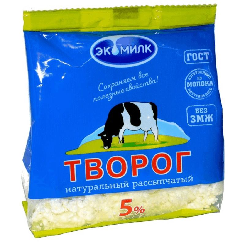 «Экомилк» «Рассыпчатый» 5.0%