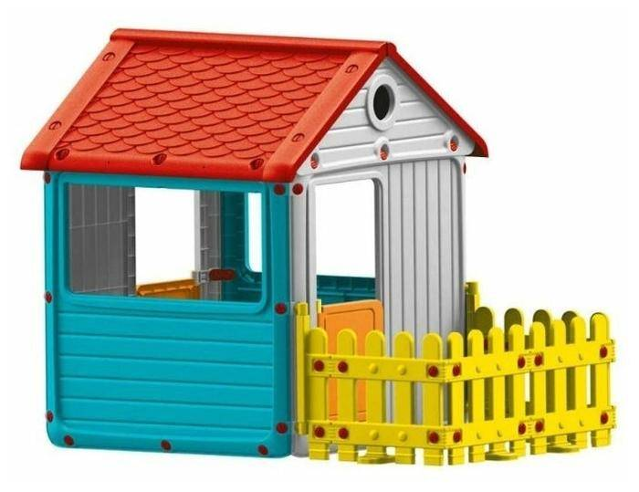 Dolu мy first house с забором 3013