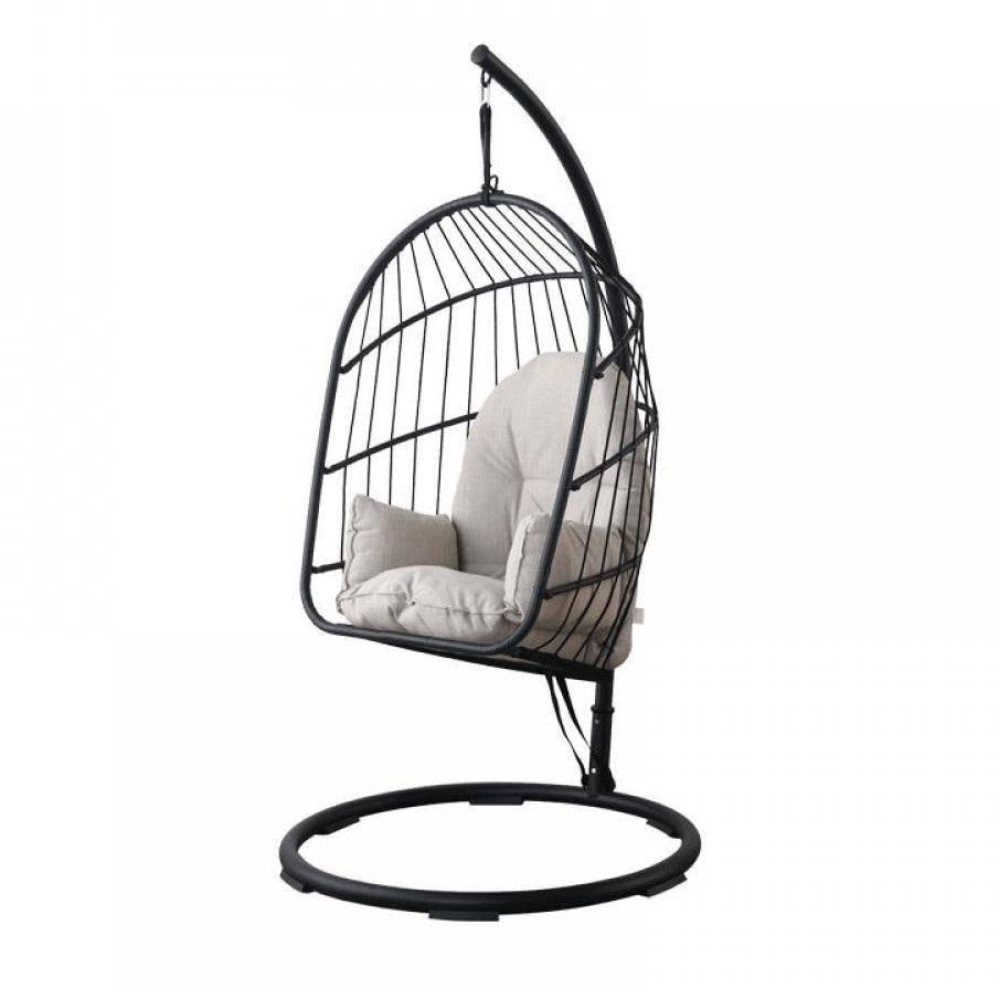 Xiaomi MWH Ellz Hanging Basket Rattan Chair Black