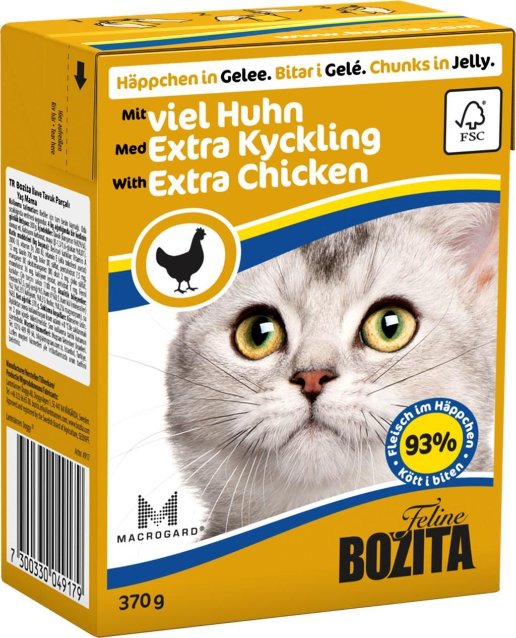 Bozita с рубленой курицей