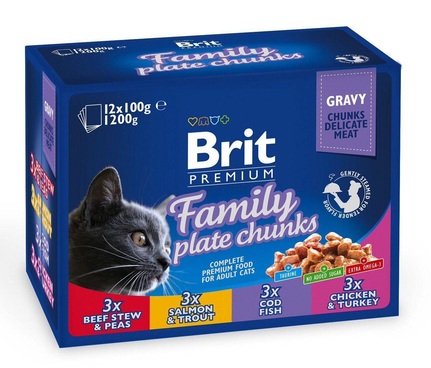 Brit Premium Family Plate