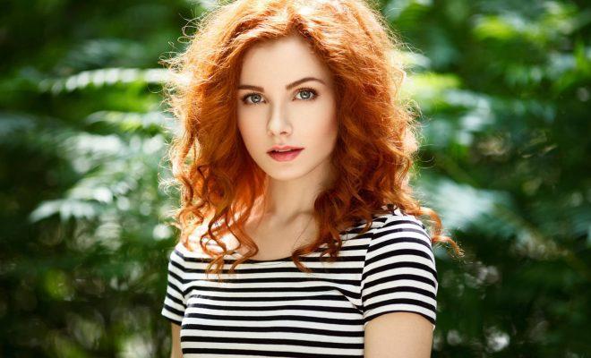 Лучшие рыжие краски для волос